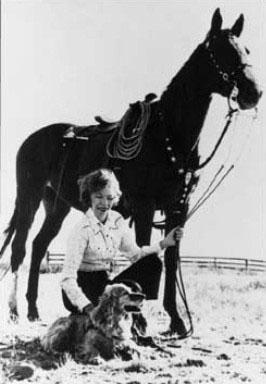 """Wild Horse Annie,"" Velma Bronn Johnson"